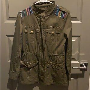 Trendy coat!